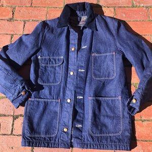 Vintage Blue Bell Wrangler Chore Coat